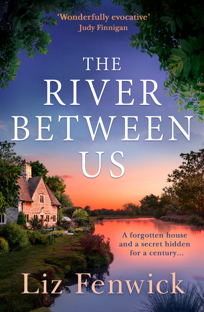 Book cover for 'The River Between Us'