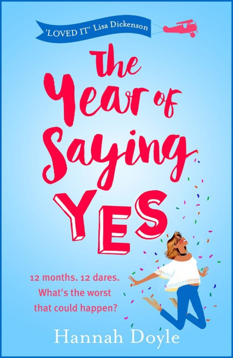 Book cover for 'The Year of Saying Yes'