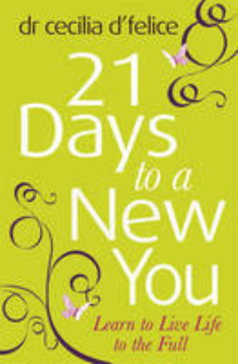 Book cover for '21 Days to a New You'