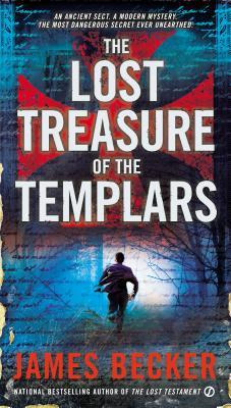 Book cover for 'The Lost Treasure of the Templars'