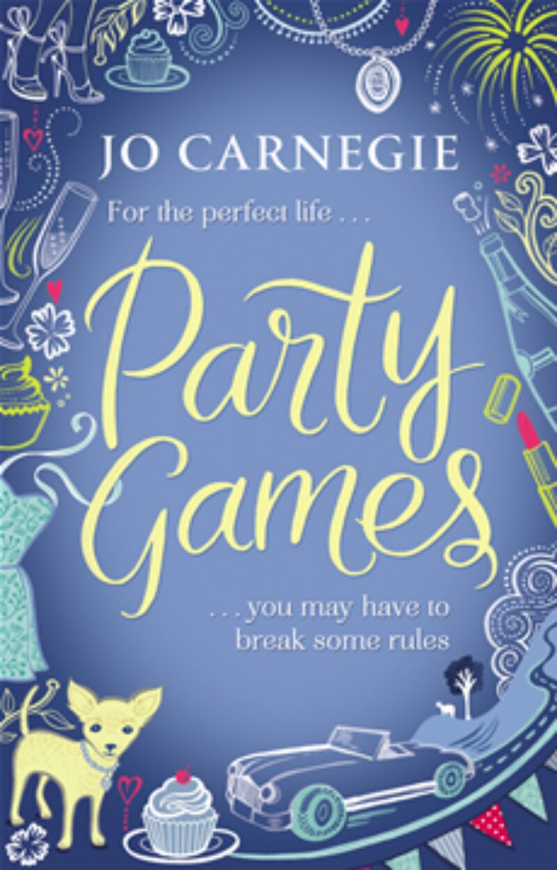 Book cover for 'Party Games'