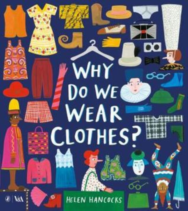 Book cover for 'Why Do We Wear Clothes?'