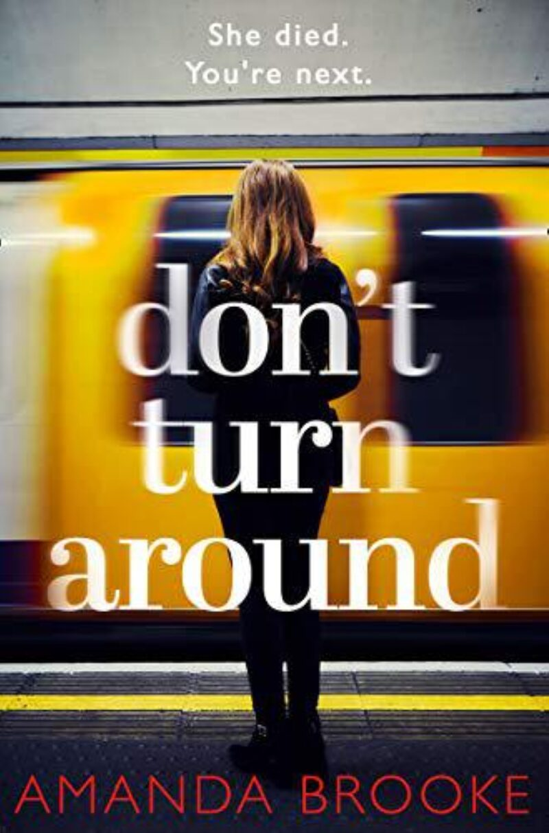 Book cover for 'Don't Turn Around'