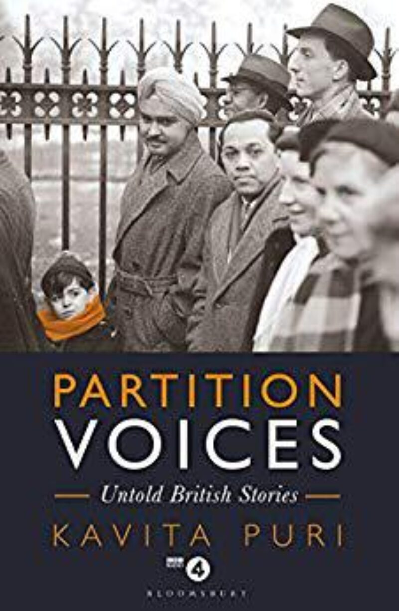 Book cover for 'Partition Voices'