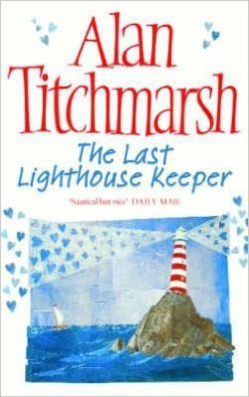 Book cover for 'The Last Lighthouse Keeper'
