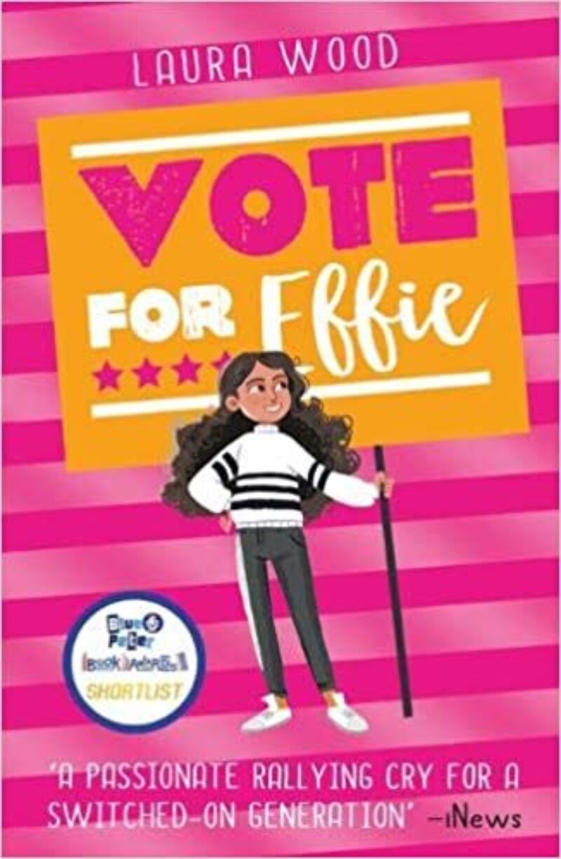 Book cover for 'Vote For Effie'