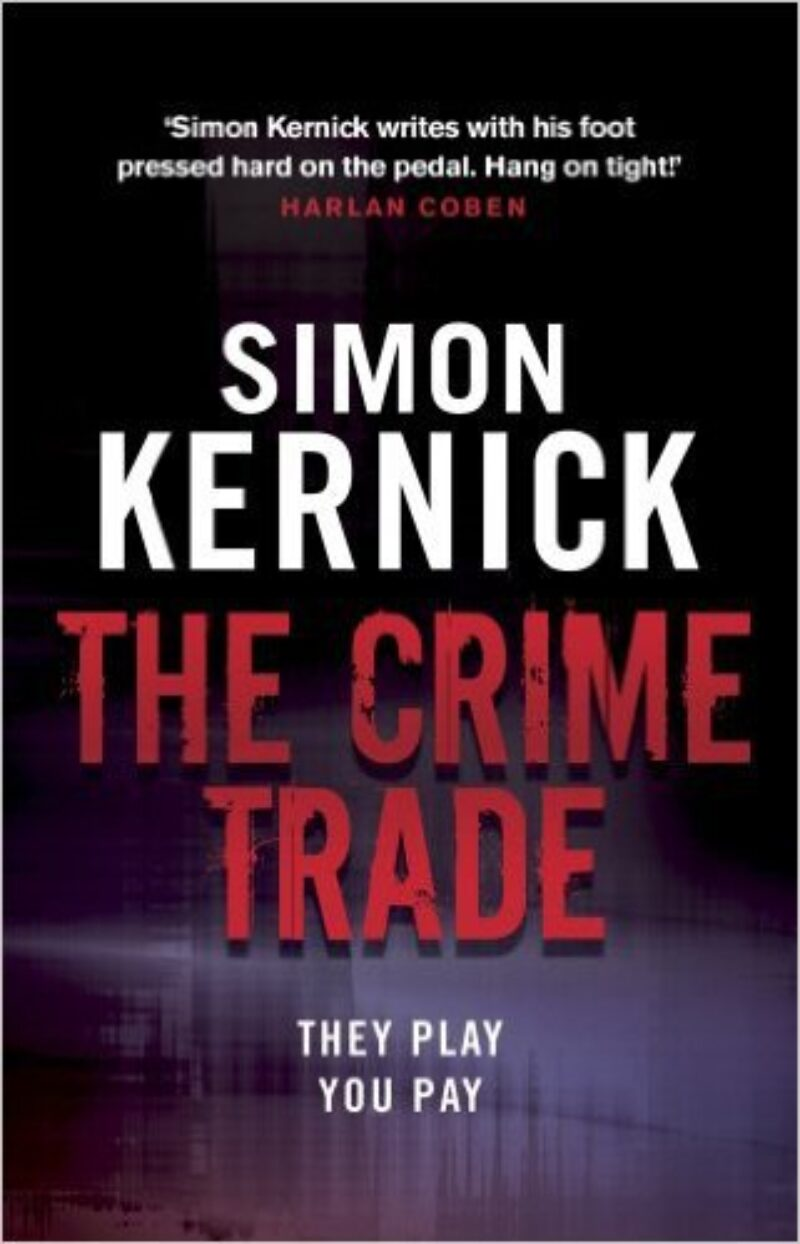 Book cover for 'The Crime Trade'