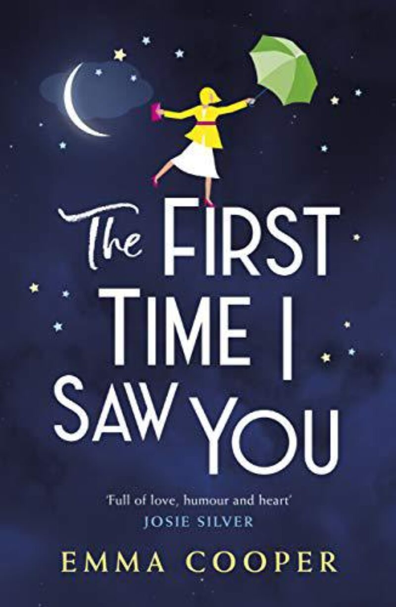 Book cover for 'The First Time I Saw You'