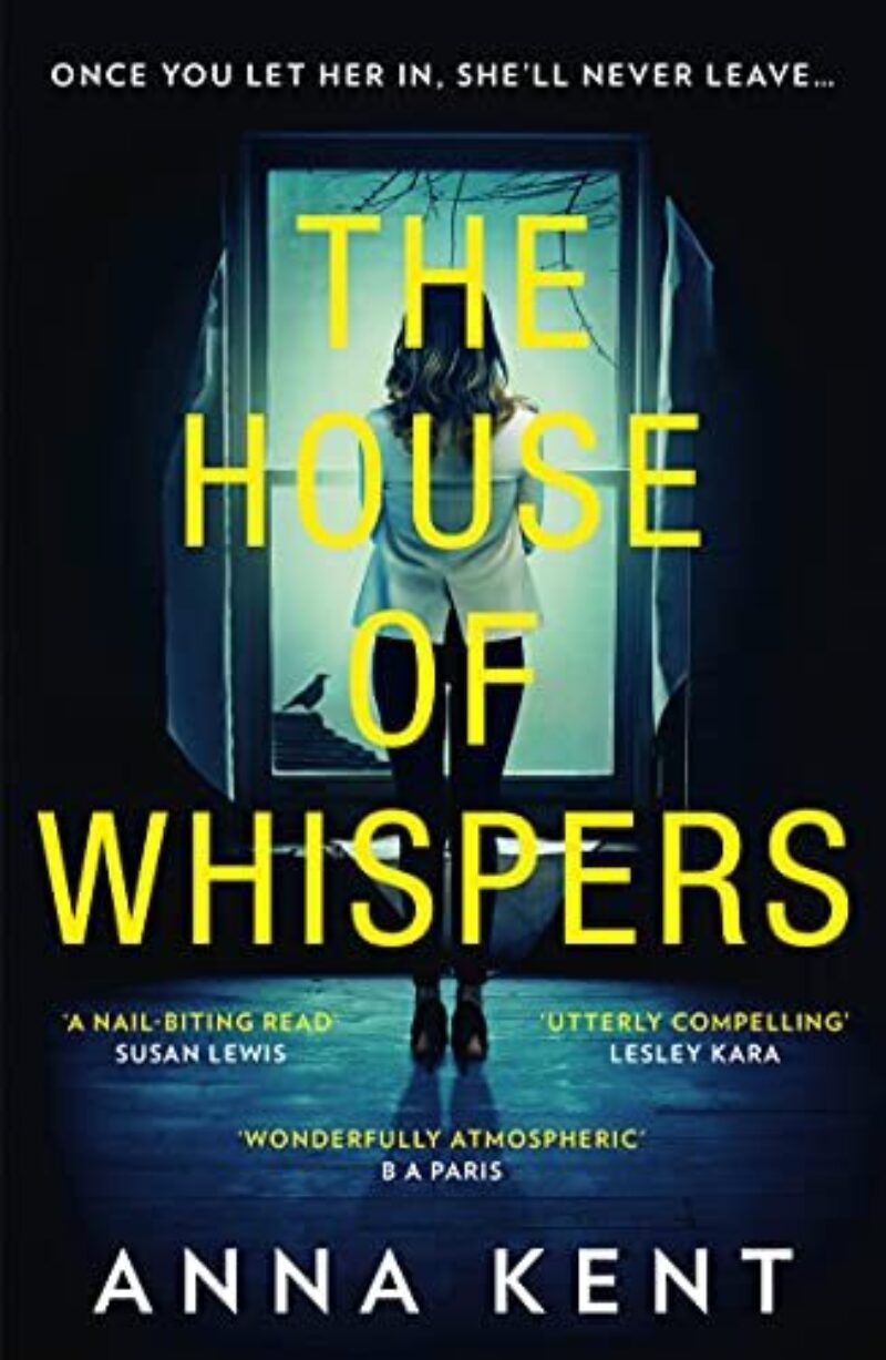 Book cover for 'The House of Whispers'