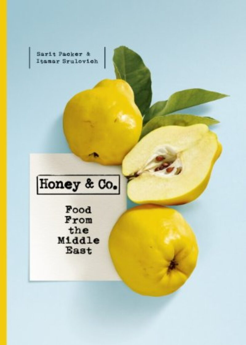 Book cover for 'Honey & Co: Food From the Middle East'