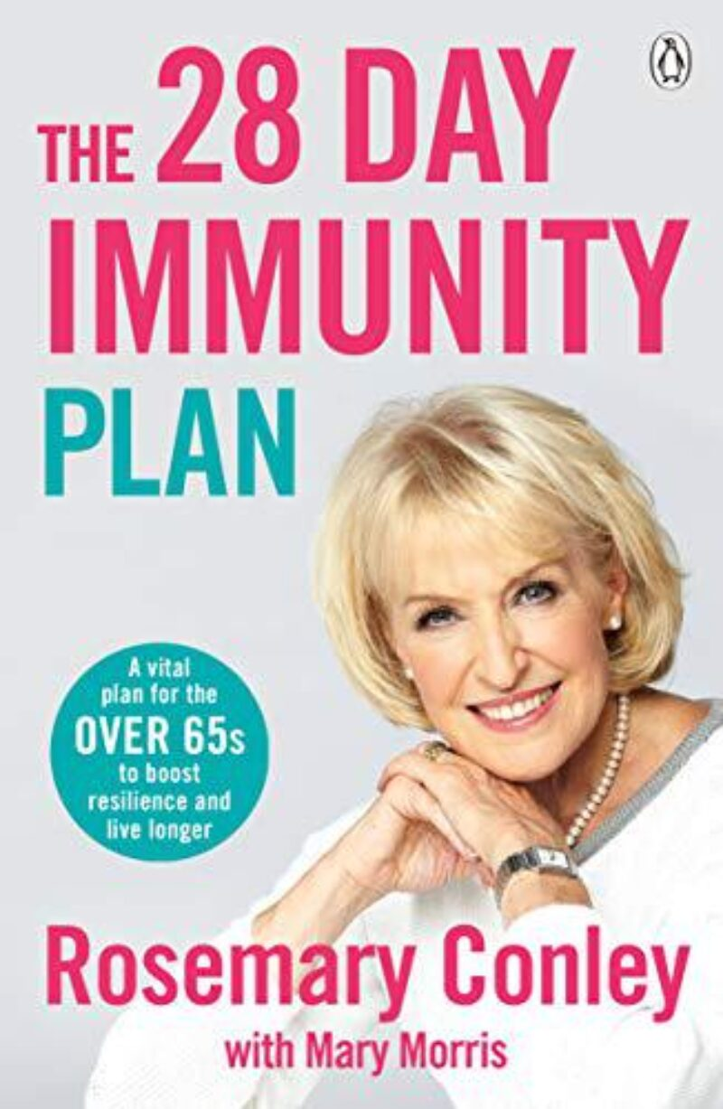 Book cover for 'The 28 Day Immunity Plan'
