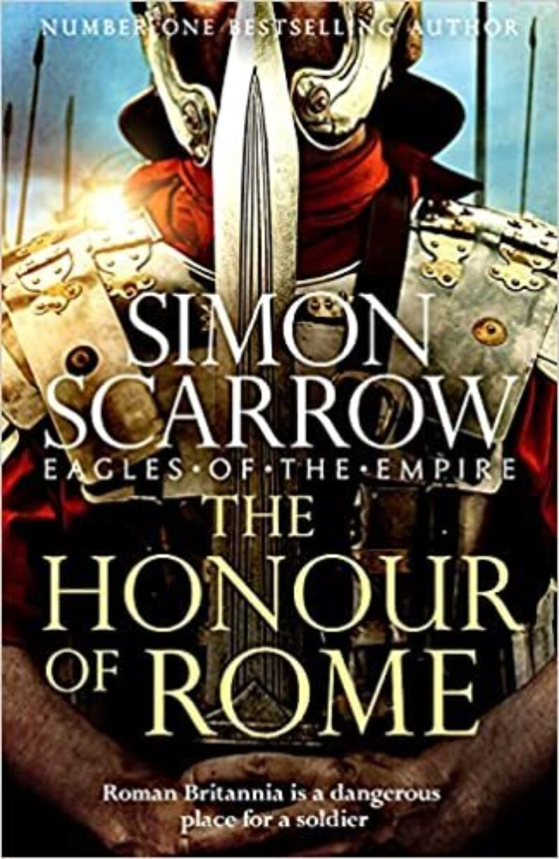 Book cover for 'The Honour of Rome'