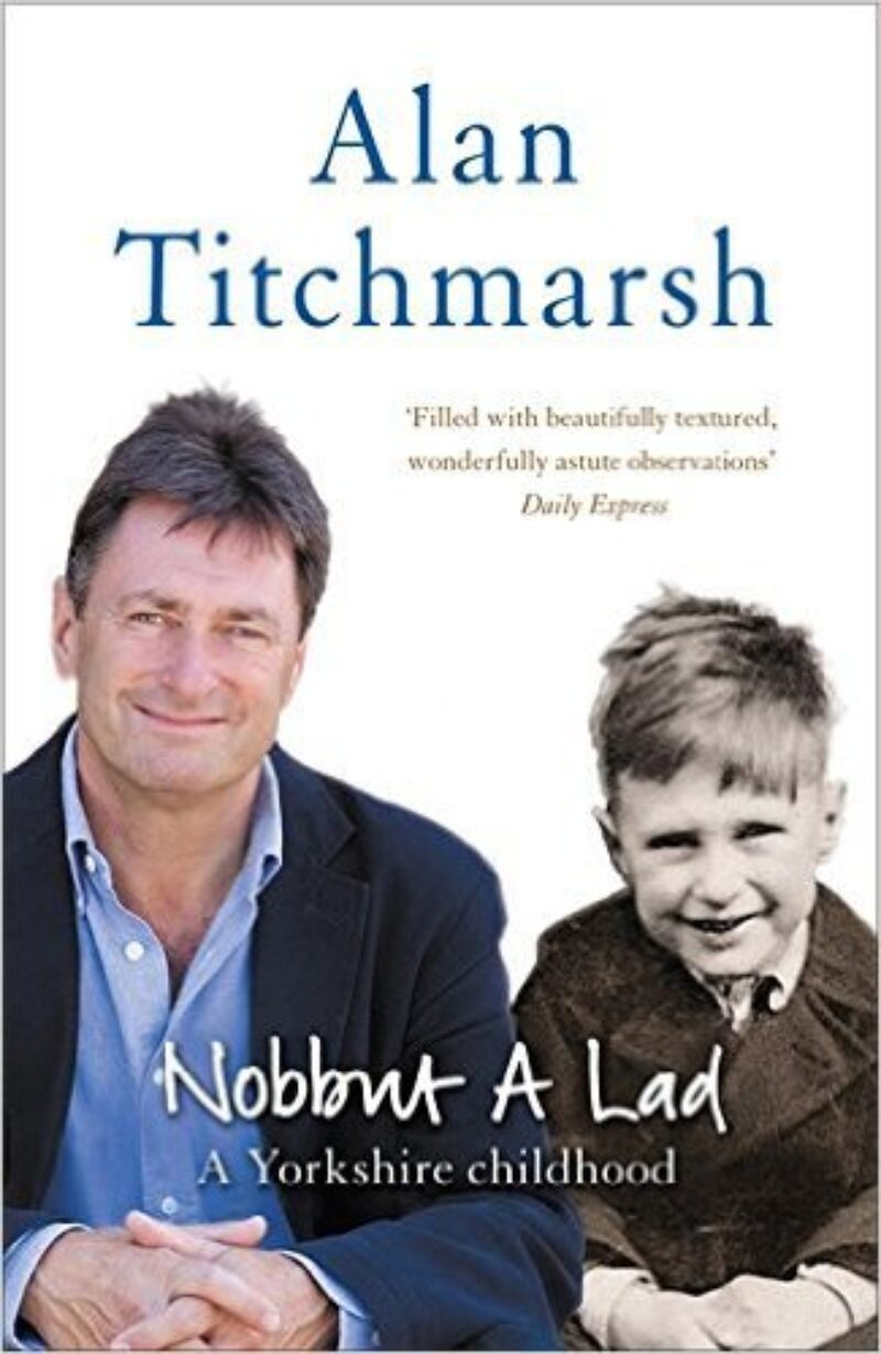 Book cover for 'Nobbut a lad. A Yorkshire Childhood'