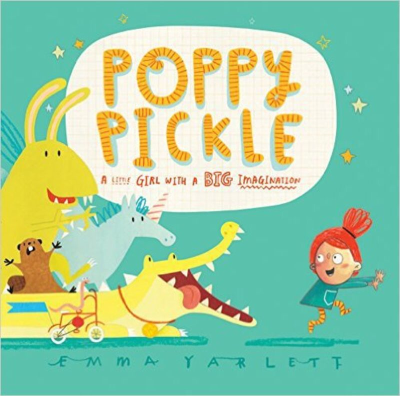 Book cover for 'Poppy Pickle'