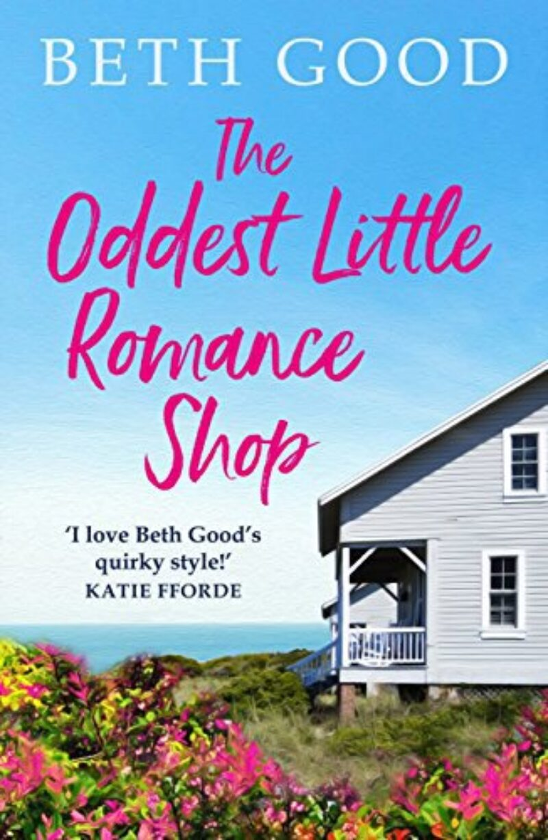 Book cover for 'The Oddest Little Romance Shop'