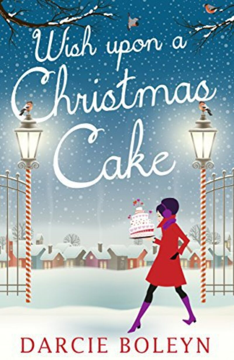 Book cover for 'Wish Upon a Christmas Cake'
