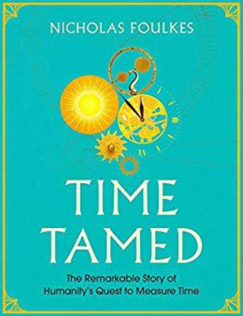Book cover for 'Time Tamed'