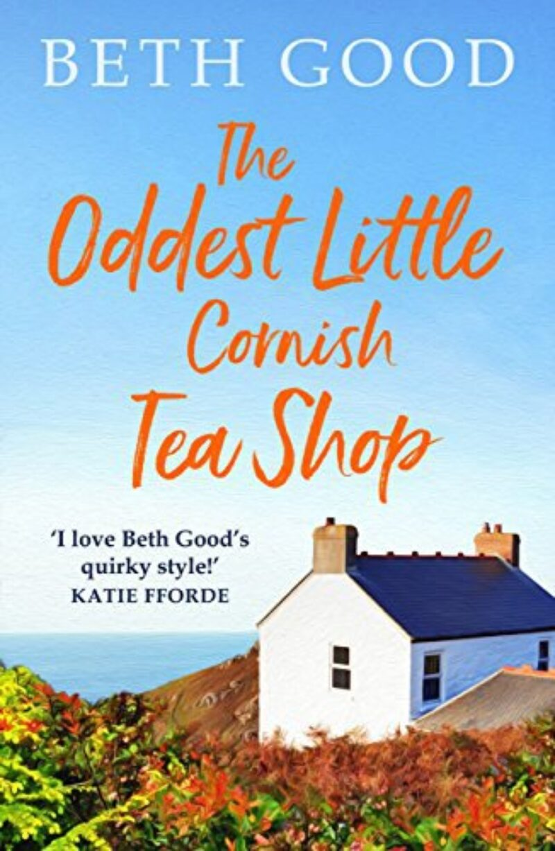 Book cover for 'The Oddest Little Cornish Tea Shop'