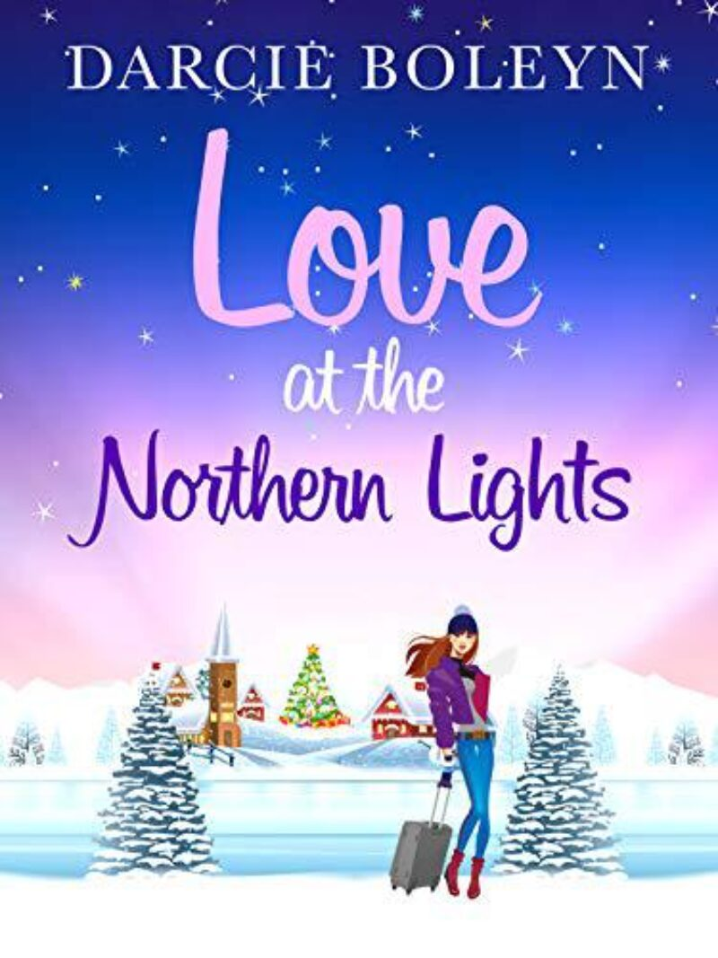 Book cover for 'Love at the Northern Lights'