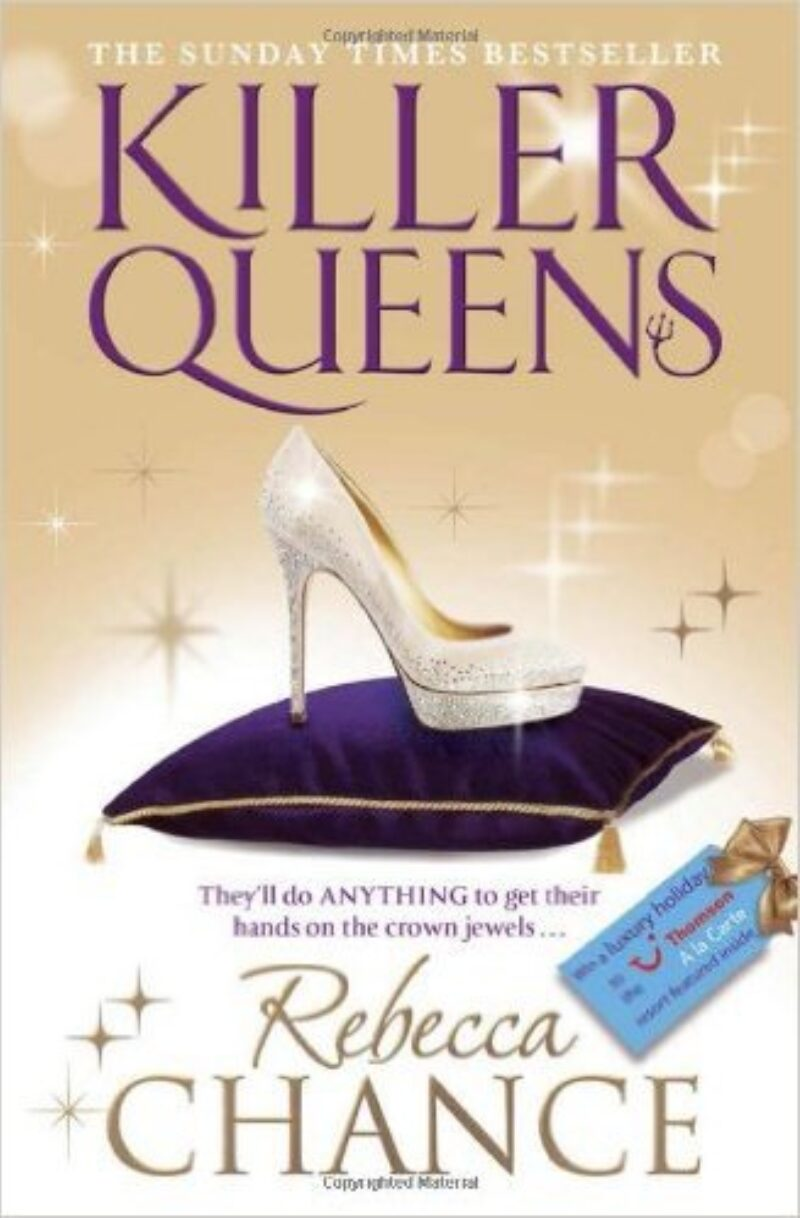 Book cover for 'Killer Queens'