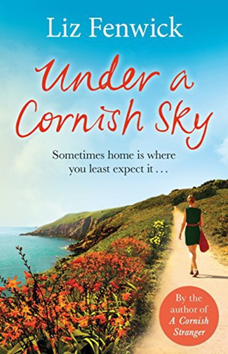 Book cover for 'Under A Cornish Sky'