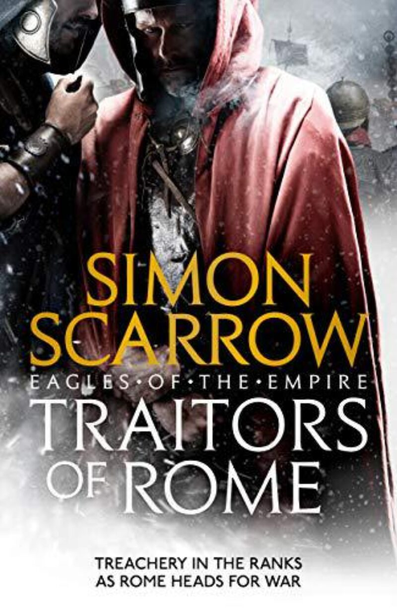 Book cover for 'Traitors of Rome'