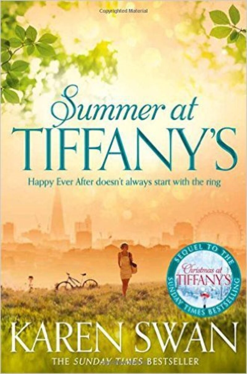 Book cover for 'Summer at Tiffany's'