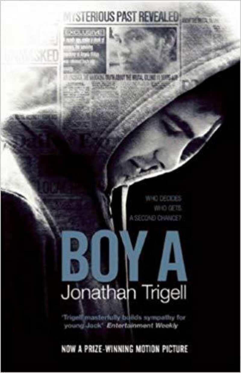 Book cover for 'Boy A'