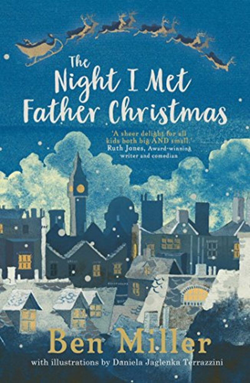 Book cover for 'The Night I Met Father Christmas'