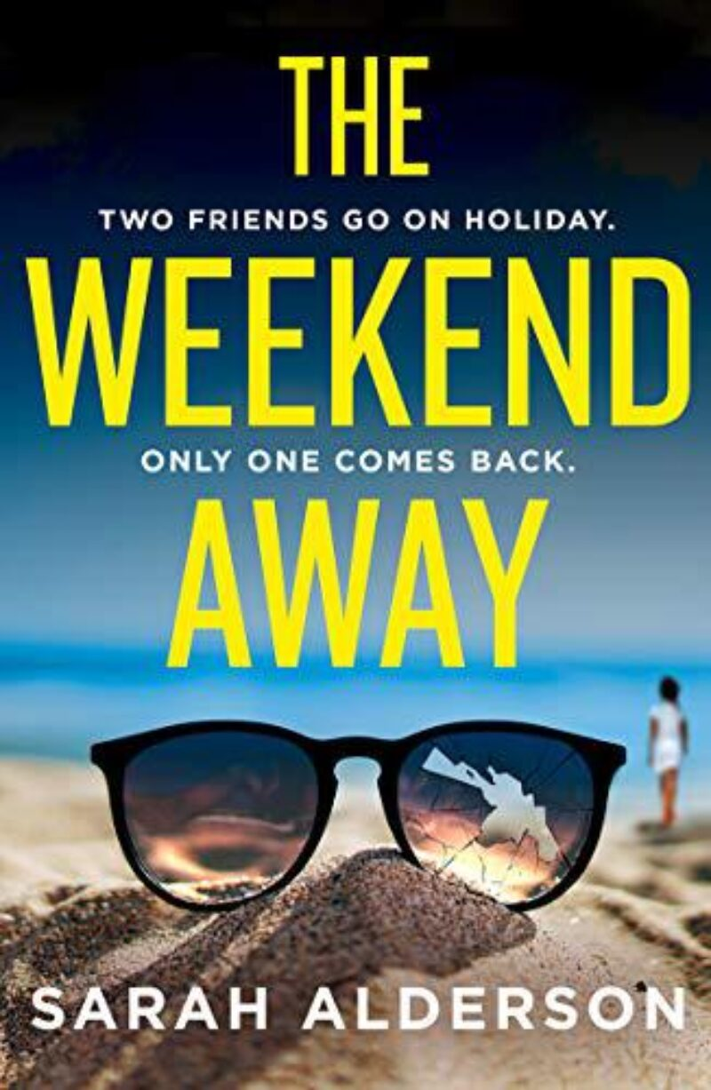 Book cover for 'The Weekend Away'