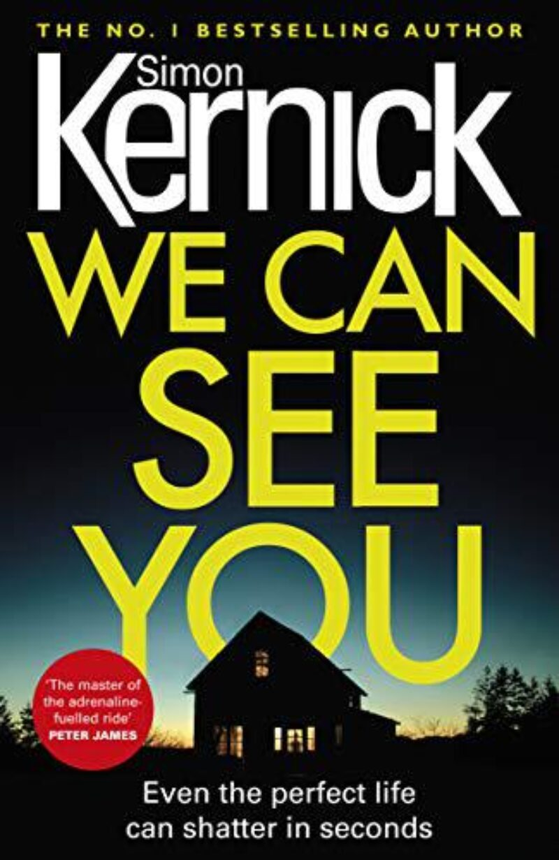 Book cover for 'We Can See You'