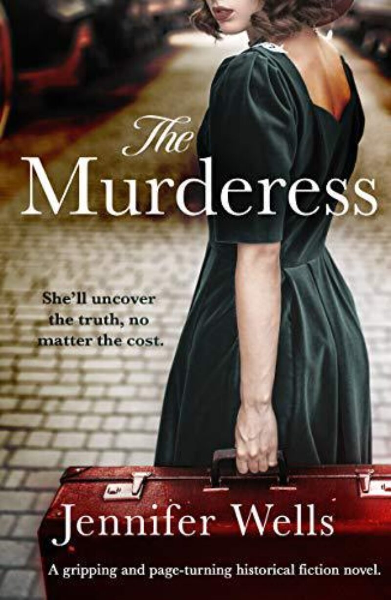 Book cover for 'The Murderess'