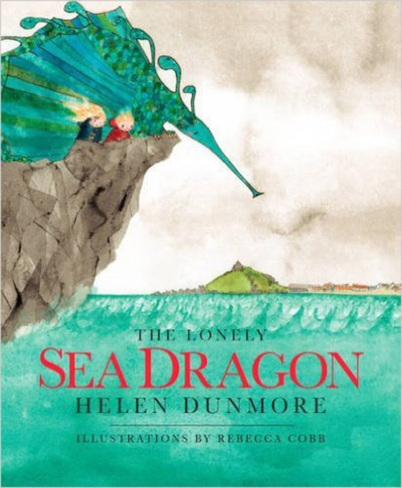 Book cover for 'The Lonely Sea Dragon'