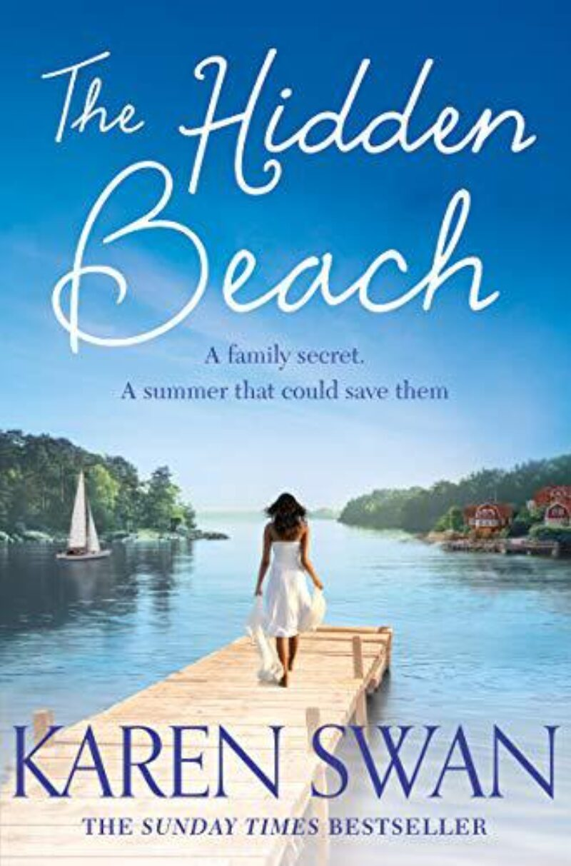Book cover for 'The Hidden Beach'