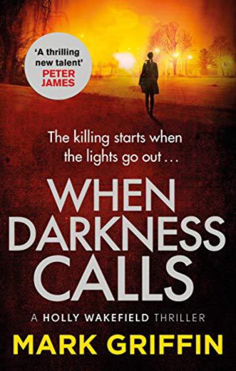 Book cover for 'When Darkness Calls'