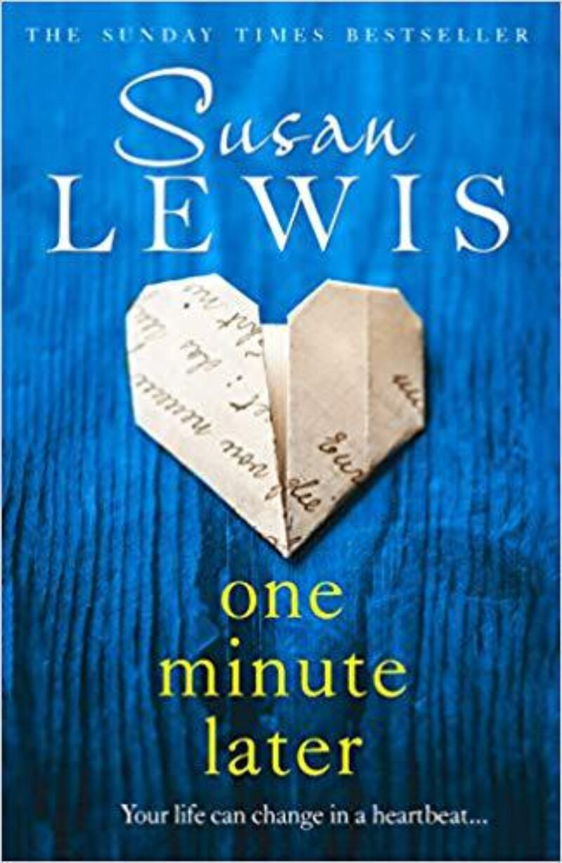 Book cover for 'One Minute Later'