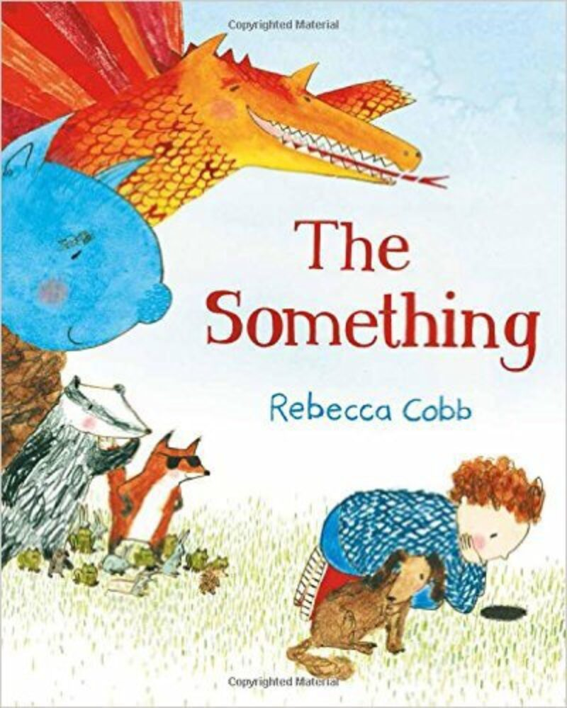 Book cover for 'The Something'