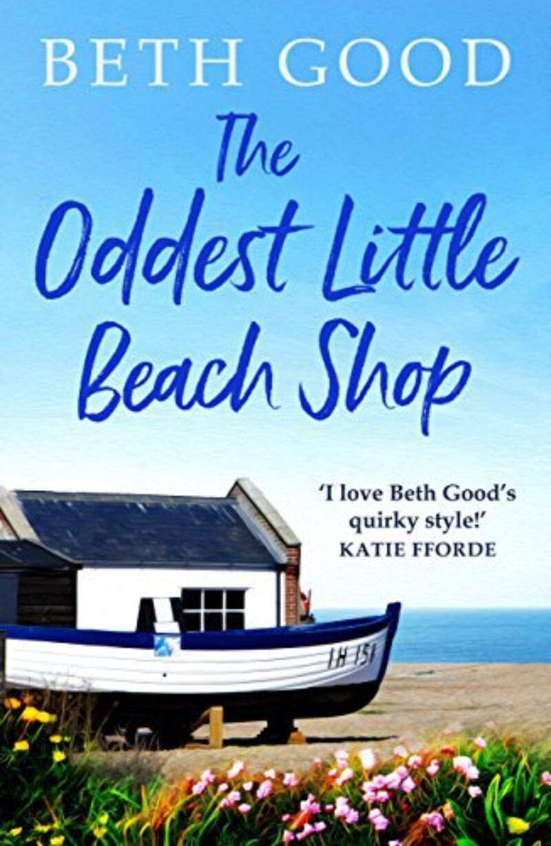 Book cover for 'The Oddest Little Beach Shop'