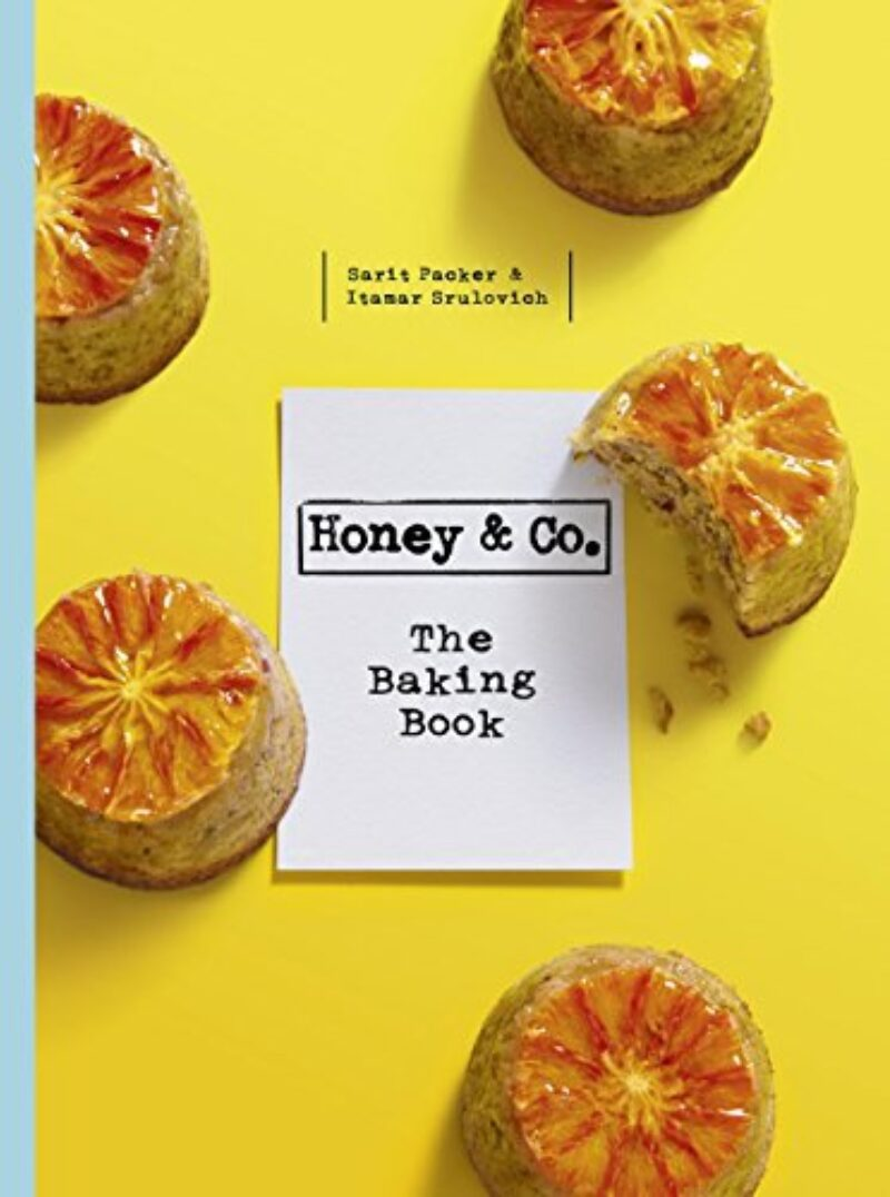 Book cover for 'Honey & Co: The Baking Book'
