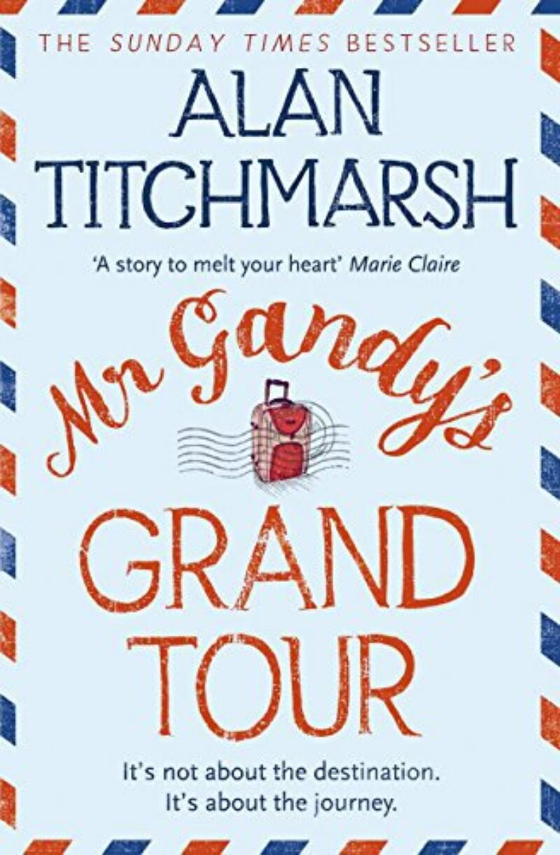 Book cover for 'Mr Gandy's Grand Tour'