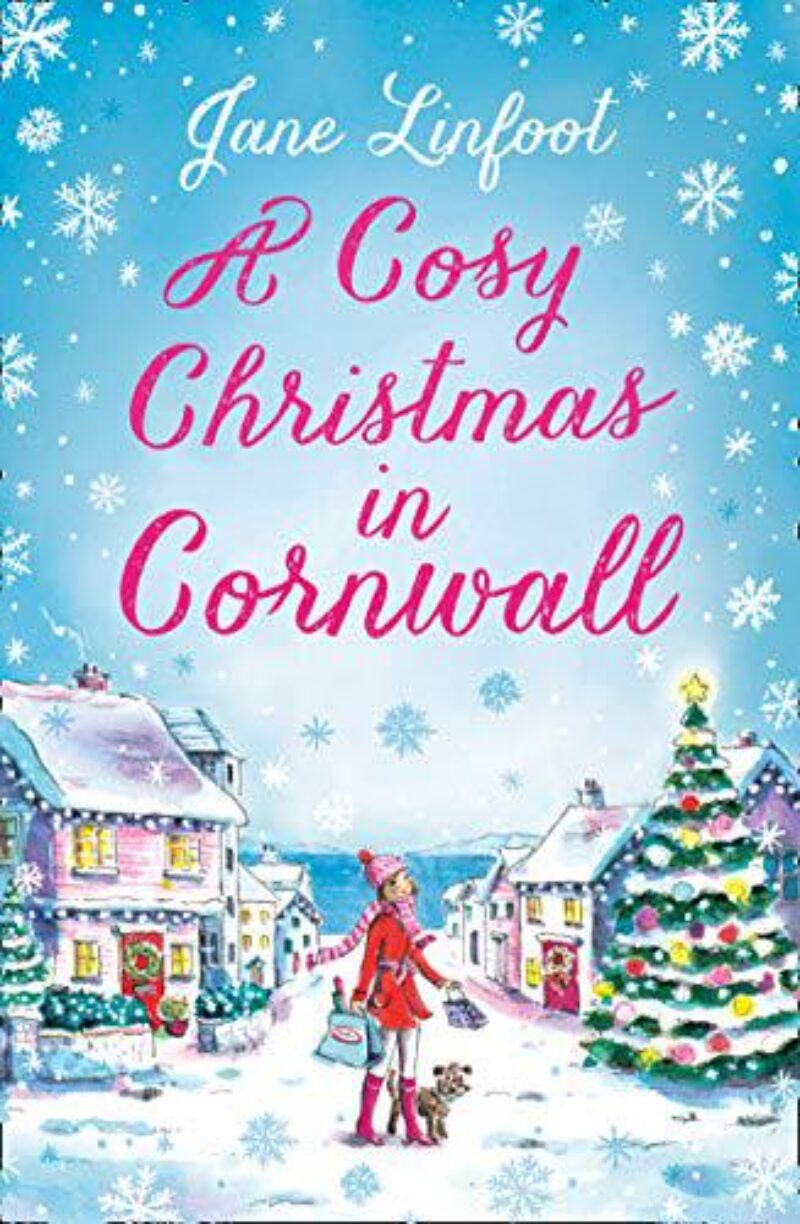Book cover for 'A Cosy Christmas in Cornwall'
