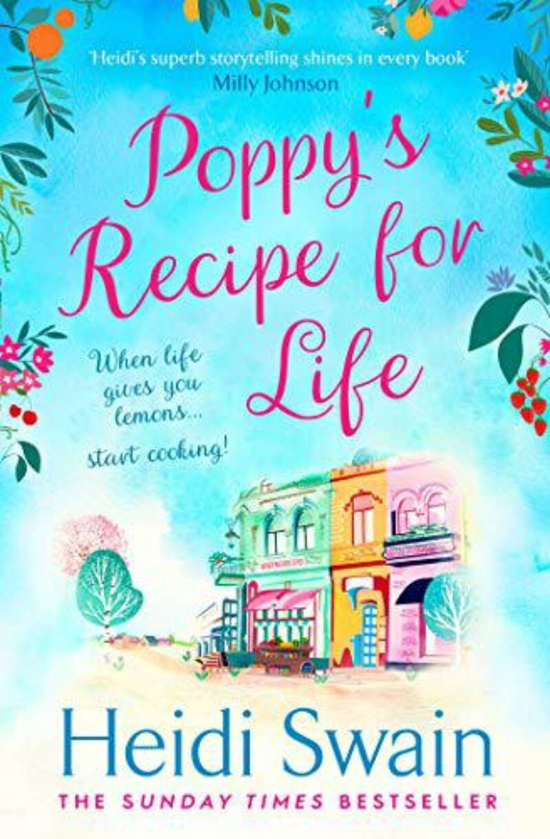 Book cover for 'Poppy's Recipe for Life'