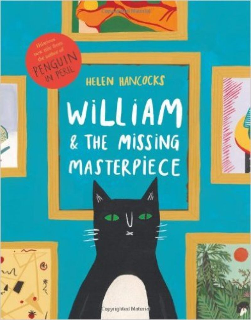 Book cover for 'William and the Missing Masterpiece'