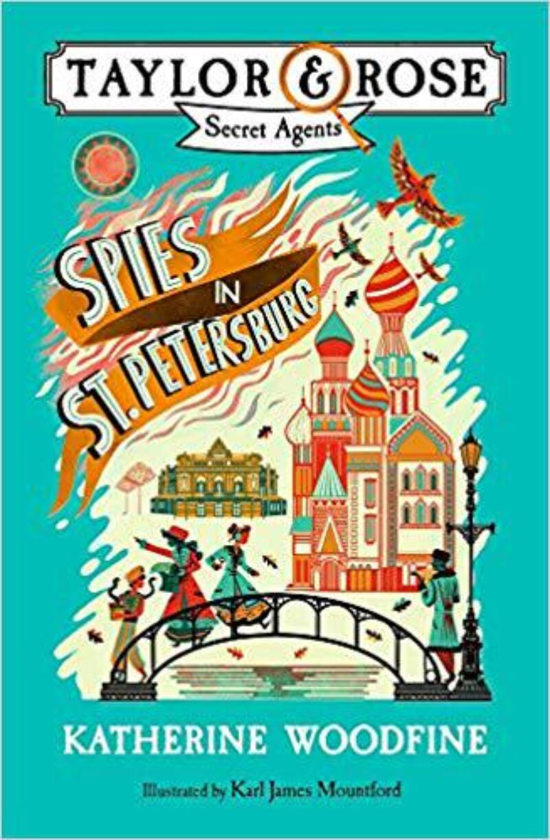 Book cover for 'Spies In St Petersburg'