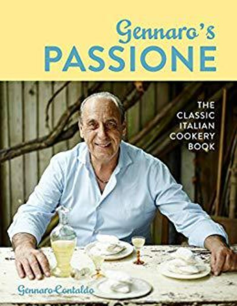 Book cover for 'Gennaro's Passione: The Classic Italian Cookery Book'