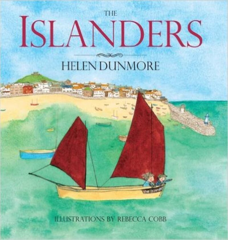Book cover for 'The Islanders'