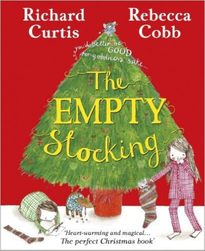 Book cover for 'The Empty Stocking'