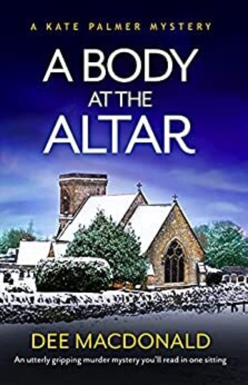 Book cover for 'A Body at the Altar'