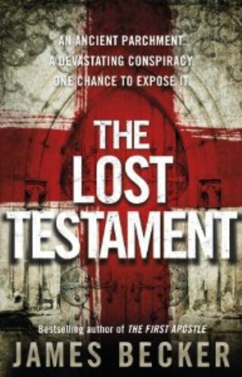 Book cover for 'The Lost Testament'