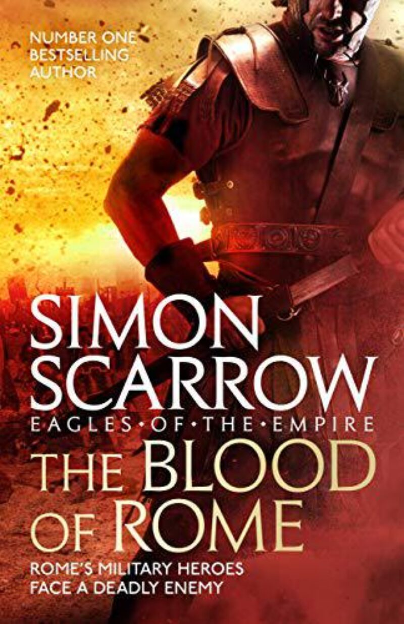 Book cover for 'The Blood of Rome'